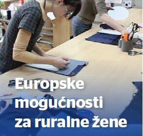 Europske mogućnosti za ruralne žene